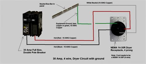 How To Wire A 30 Amp 240 Volt Circuit