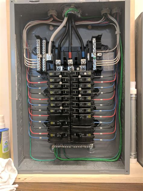 How To Wire A Breaker Panel