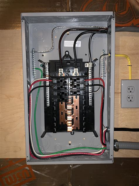 How To Wire A Breaker Sub Panel