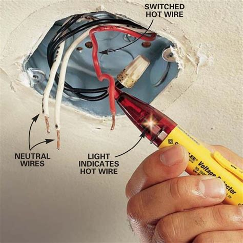 How To Wire A Hanging Light Fixture