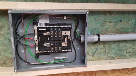 How To Wire A Sub Panel In A Detached Garage