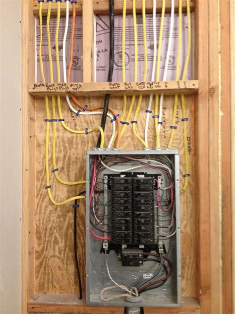How To Wire An Electrical Subpanel In Garage