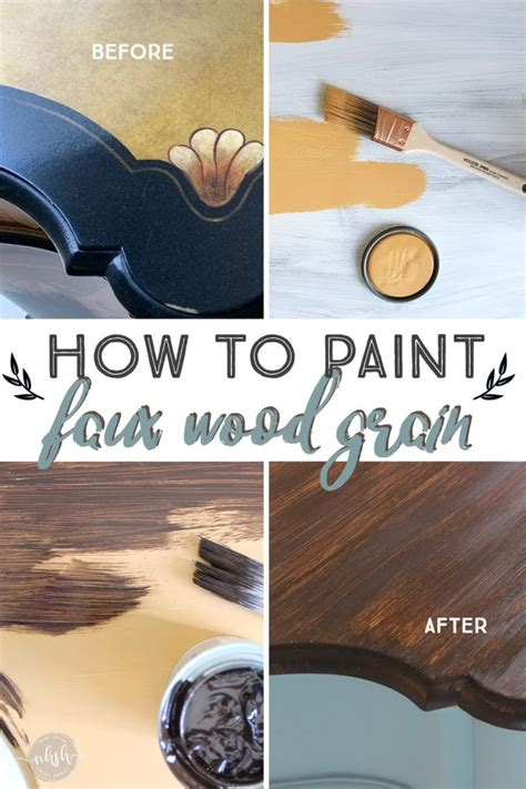 How To Wood Grain A