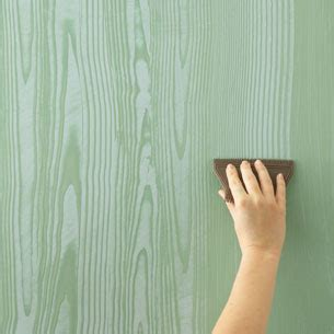 How To Wood Grain A Wall