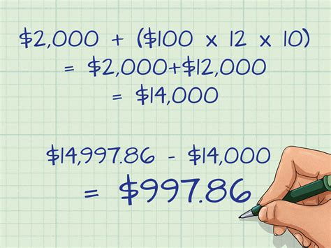 How To Work Out Compound Interest On Savings