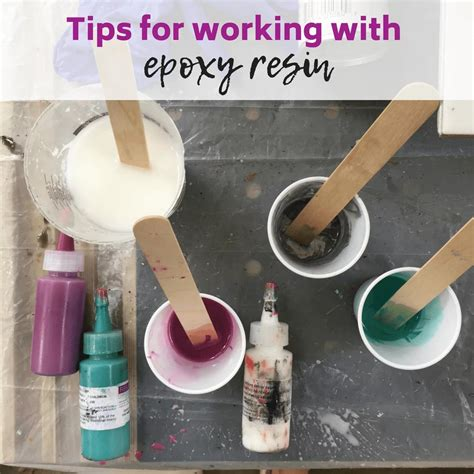 How To Work With Epoxy Resin