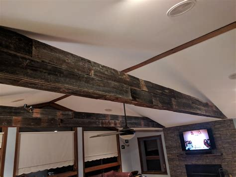 How To Wrap Wood Beams