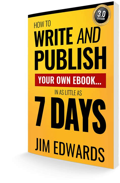 @ How To Write Your Own Ebook R In 7 Days .