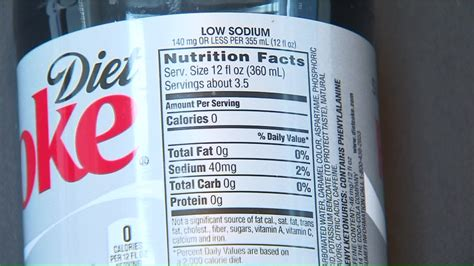 How many calories is in diet soda Image