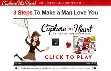 [click]how To Make Him Love You More And Forever - Capture His Heart By Michael Fiore.