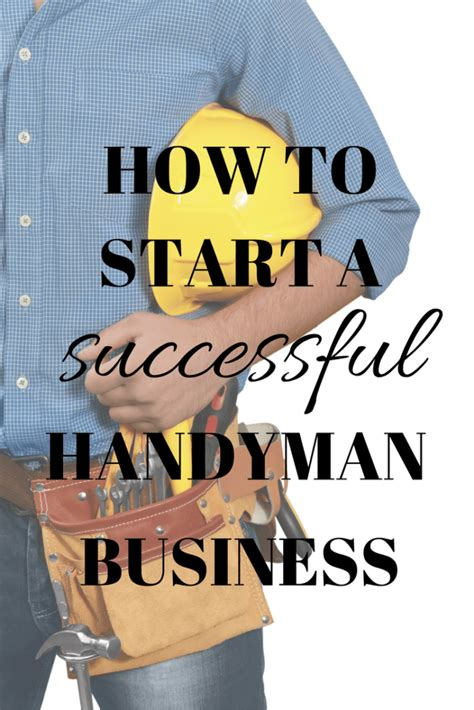 @ How To Start A Successful Handyman Business - The Frugal .