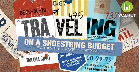 @ How To Travel The World On A Shoestring Budget .