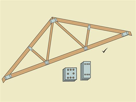 How to build a simple wood truss Image