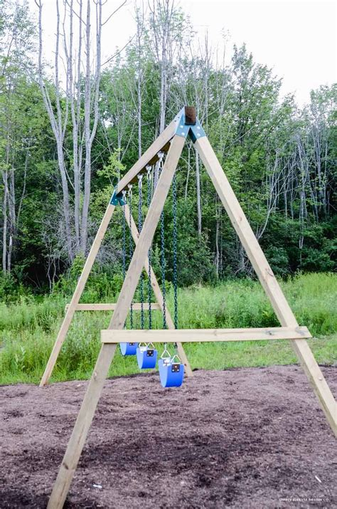 How to build a swing set frame.aspx Image