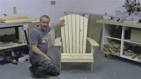 How to build an adirondack chair part 1 save money build your own Image
