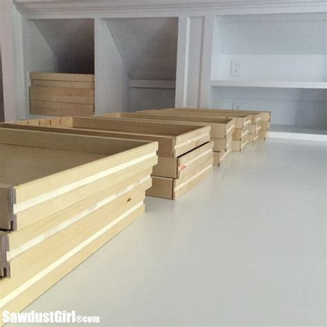 How to build dresser with wooden runners.aspx Image