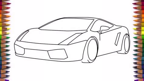 How to draw simple cars Image