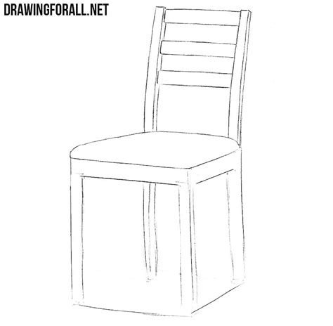 How to draw simple chairs from twigs Image