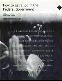 [pdf] How To Get A Job In The Federal Government - U S Bureau .