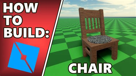 How to make a chair in roblox studios Image