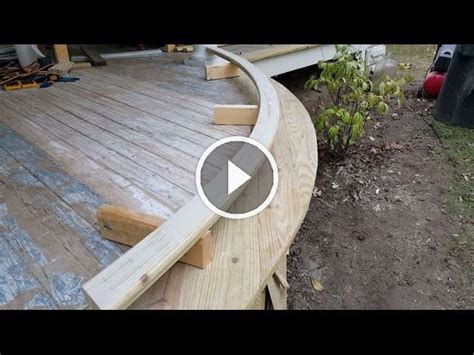 How to make a curved railing no steam required Image