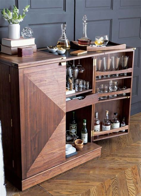 How to make a home bar cabinet Image