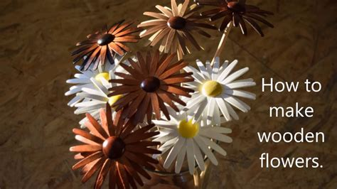 How to make wooden flowers.aspx Image