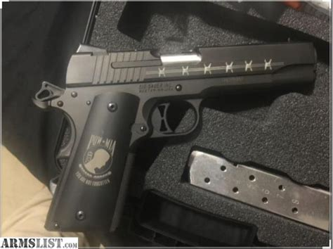 How Many Sig Sauer 1911 Pow Mia Were Made And Price For A Glock 19 Gen 4