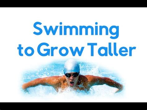 How To Grow Taller By Swimming And How To Make A Canopy Tent Taller