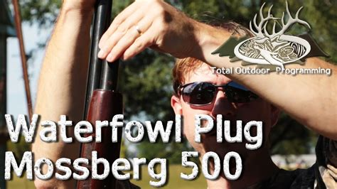 How To Install Plug In Mossberg 500 And Is The Mossberg 590 Shockwave Legal In Md