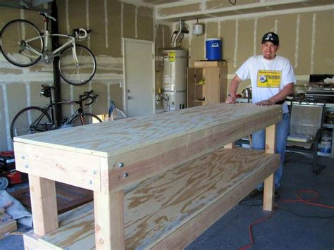 How-To-Build-A-Garage-Workbench-Plans