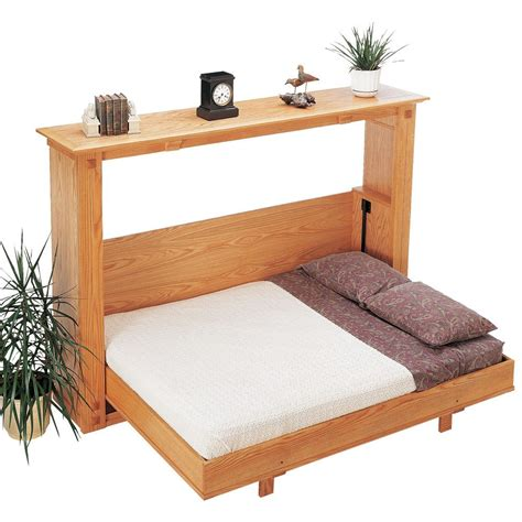 How-To-Build-A-Queen-Size-Murphy-Bed-Free-Plans