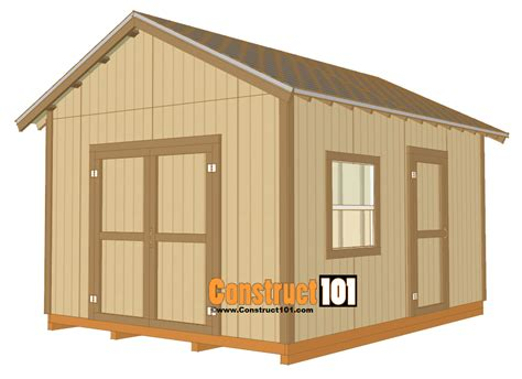 How-To-Build-A-Shed-12x16-Storage-Shed-Plans