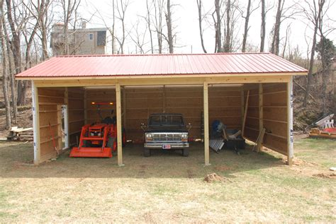 How-To-Build-A-Small-Pole-Barn-Plans