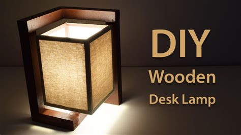How-To-Build-A-Wooden-Desk-Lamp-Diy-Project