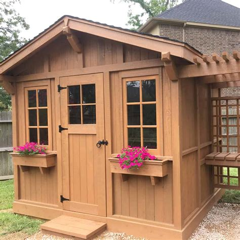 How-To-Build-An-Outdoor-Shed-Diy