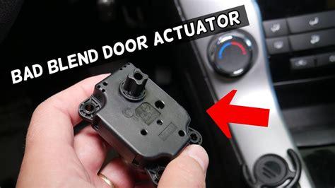 How-To-Diy-Broken-Blend-Door-Actuator-Controls