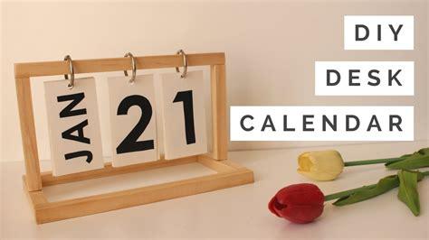 How-To-Make-A-Diy-Desk-Calendar