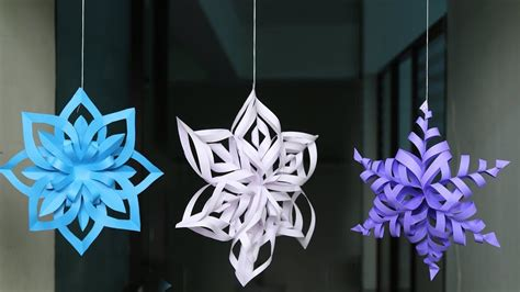 How-To-Make-A-Easy-Snowflake-Youtube
