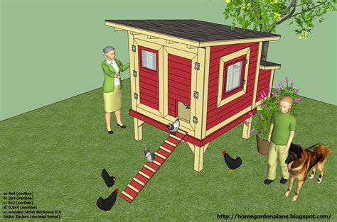 How-To-Make-A-Hen-House-Free-Plans