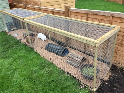 How-To-Make-A-Rabbit-Run-Plans