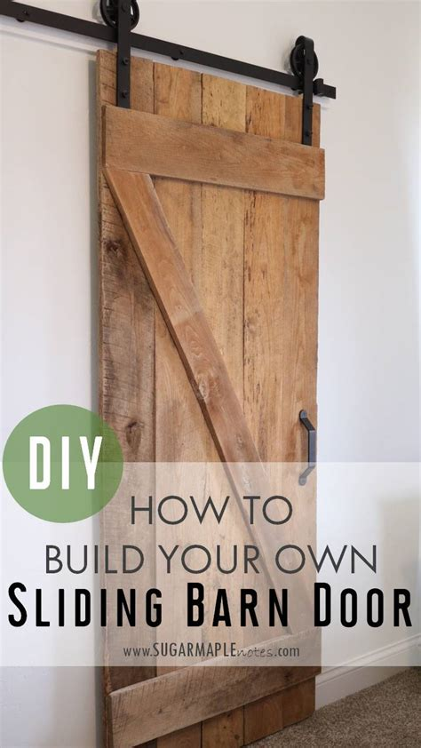 How-To-Make-A-Sliding-Barn-Door-Diy