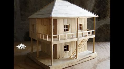 How-To-Make-A-Wooden-House-Model
