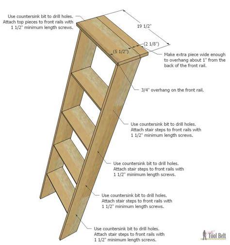 How-To-Make-Diy-Decorative-Wood-Ladder