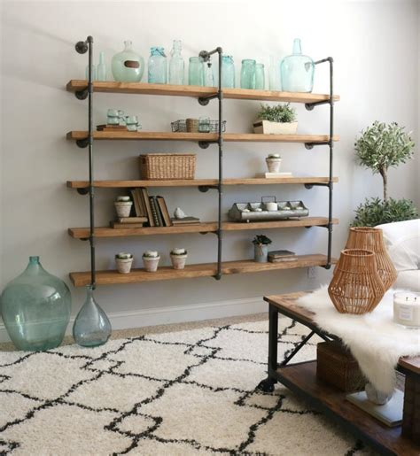 How-To-Make-Diy-Industrial-Shelving
