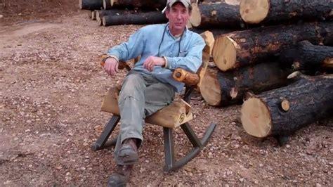 How-To-Make-Log-Furniture-Youtube