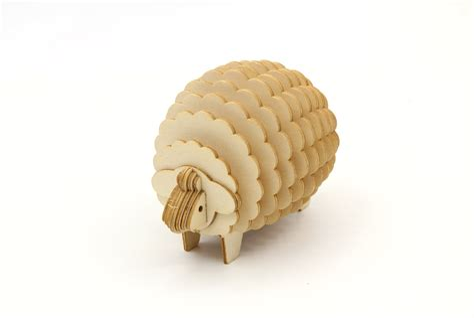 How-To-Make-Wood-Sheep-Puzzle-Diy