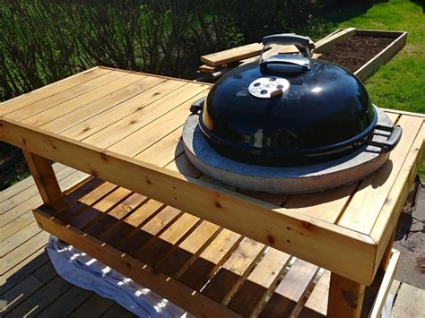How-To-Mount-Kettle-On-Diy-Grill-Table