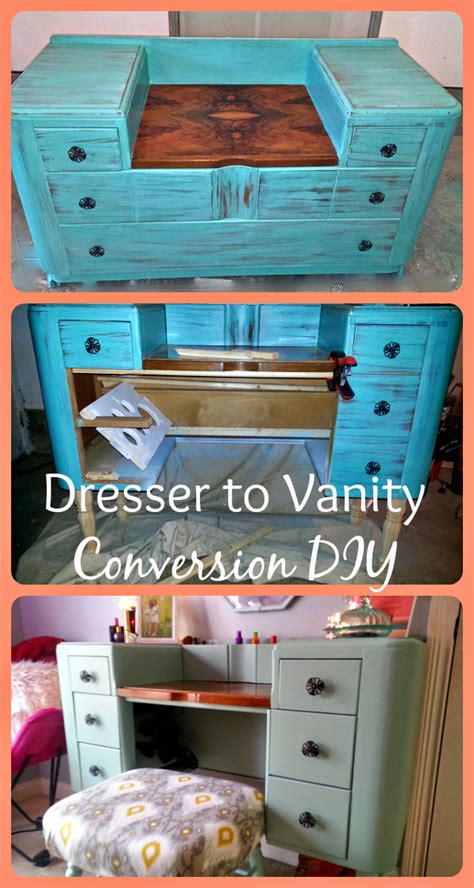 How-To-Turn-A-Dresser-Into-A-Vanity-Diy