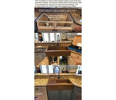 Best How do you install a farmhouse sink.aspx
